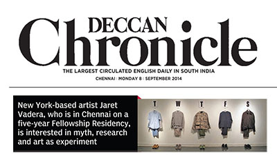 Jaret Vadera: Deccan Chronicle