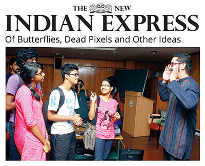 Jaret Vadera: Butterflies, Dead Pixels, and Other Ideas - The New Indian Express